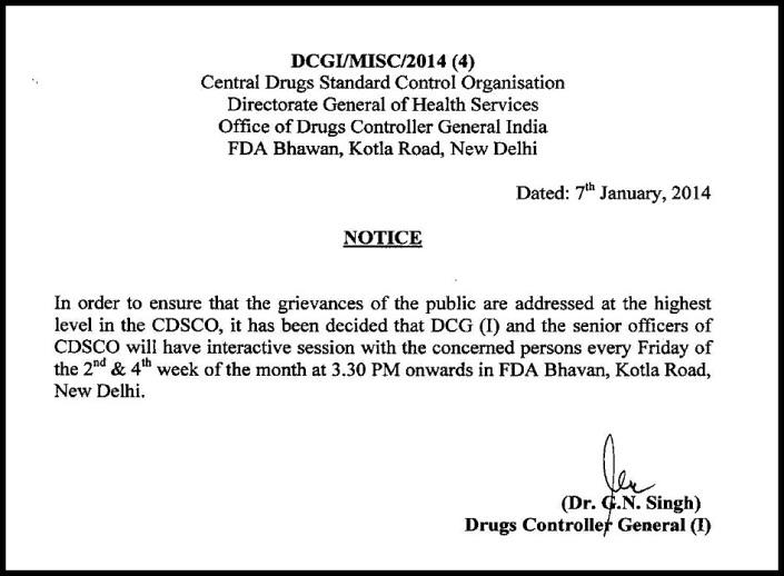 DCGI_Notice_07 Jan 13